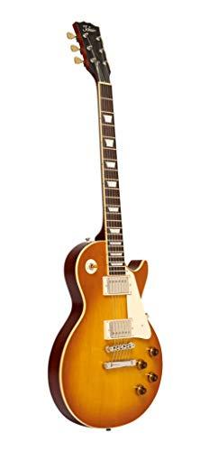 Tokai ULS129 MVF Love Rock - Guitarra eléctrica con funda, violín mate