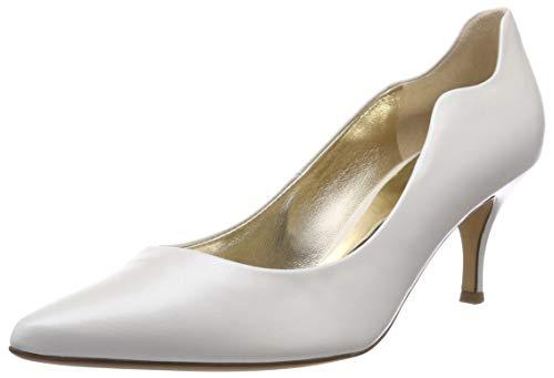 HÖGL Damen Curve 60 Brautschuhe, Weiß Perlweiss, 41.5 EU