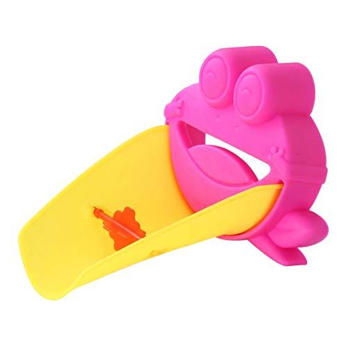 Juguetes de baño 1 Uds., Cangrejo de dibujos animados, extensor de lavado de manos para niños, grifo para niños pequeños, bañeras para bebés, grifo para fregadero, juguetes de baño de agua para C1