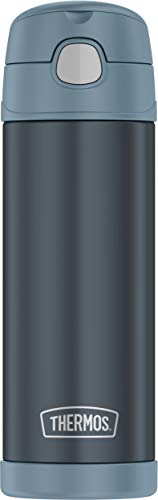 Thermos Funtainer 16 Ounce Bottle, Slate