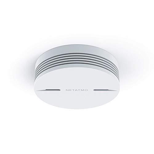 Netatmo NSA-UK Smart Smoke Alarm, White