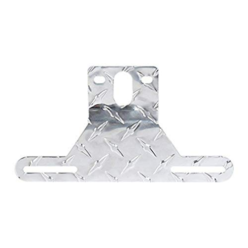 BiaBai Czc Auto Brand High Quality Material Aluminum More Sturdy Long Years Lifetime Trailer License Plate Light Bracket