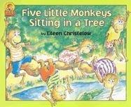 Five Little Monkeys Sitting in a Tree Book & Cassette (Carry Along)の詳細を見る