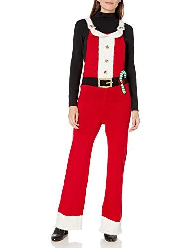Blizzard Bay Damen Overall Jumper Jingle Bell Santa Jumpsuit, Schlitten Rot, Groß