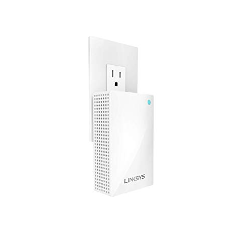 Linksys WHW0101P Velop Whole Home Wi-Fi Intelligent Mesh System Wall Plug-In, Works with Your Velop System to Extend Range & Speed