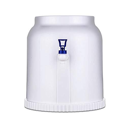 Bdesign Dispensador de agua de la botella de la mesa de la mesa de mini mesa del hogar, portátil con el cubo de agua de todos los partidos, sin función de calefacción para la oficina en casa de la enc