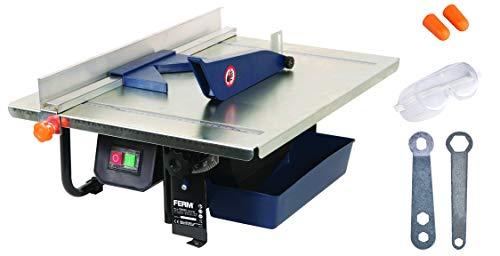 FERM TCM1011 Máquina para cortar azulejos (900 W, 230 V, Acero Inoxidable,...