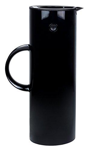 Stelton EM 77 Isolierkanne, Kaffeekanne, Kunststoff, schwarz, 1 Liter