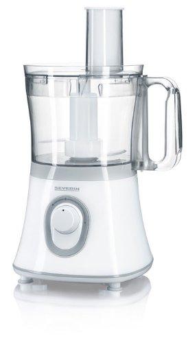 Severin Robot da cucina KM 3902 600W, colore bianco-grigio