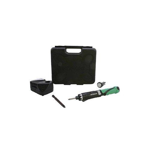 Hitachi DB3DL2 3.6 Volt Lithium Ion Dual-Position Cordless Screwdriver Kit (Lifetime Tool Warranty)