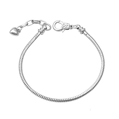 dise/ño de coraz/ón Abalorio para pulsera KunBead Jewelry