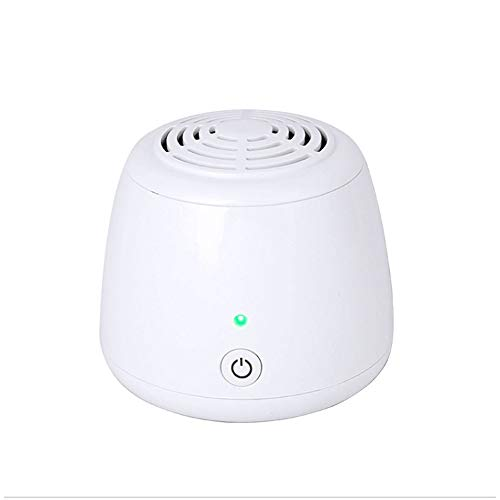 Ozongenerator Kühlschrank Mini Luftreiniger Sterilisierende Deodorant Mini Geruch Absorber Eliminator Luftreiniger für Haustier,Raucher,Schuhschrank, Kleiderschrank,Autos