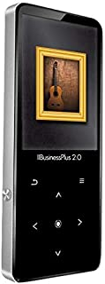 SAMVIX IIBUSINESS Plus 2.0 8GB, MP3 Player with Option to Transfer from Card to Player, Touch Buttons, Kosher MP3 Player W...
