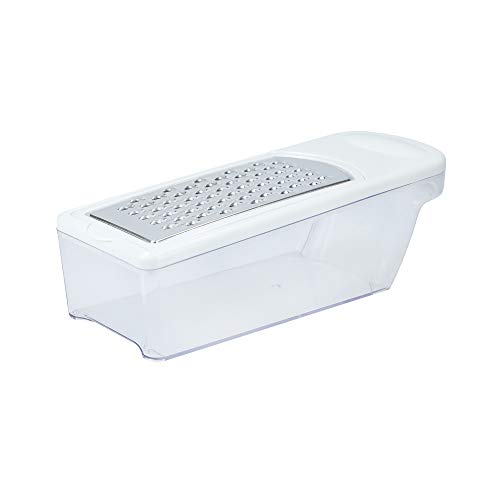 Kitchen Craft Rallador Don Recipiente Medidor, Acero Inoxidable, Blanco, 8.7x25.4x9.8 cm