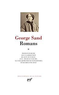 Romans - La Pléiade, tome 2 par George Sand