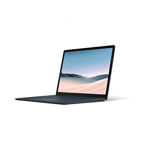 "Microsoft Surface Laptop 3 Ultra-Thin 13.5"" Touchscreen Laptop (Cobalt Blue) - Intel 10th Gen Quad Core i5, 8GB RAM, 256GB SSD, Windows 10 Home, 2019 Edition"