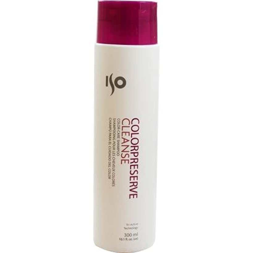 トイレ満員三角形ISO Color Preserve Cleanse - 10.1 oz by ISO