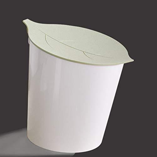 WWWWWWW Mini-vuilnisemmer voor op het bureau met afzuigkap, binnen en buiten, dubbel, geurremmend, vuilnisemmer