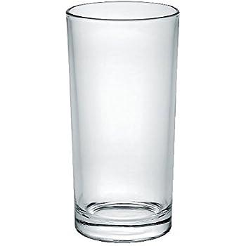 Borgonovo Indro Juego de 6 Vasos de Vidrio, Cristal, 300 ml