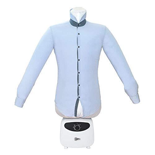 Dry Magic, 2-in-1 Trockner und Bügeln, Heißluftpuppe, kein Bügeln von Hemden, Weiß