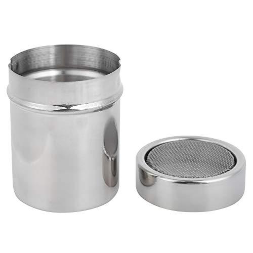 Salero Pimentero Tarro de condimento Dispensador de coctelera de azúcar en polvo Colador de café de harina de cacao para hornear Cocina BBQ