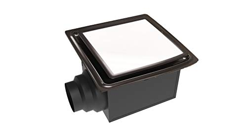 Aero Pure ABF110 L5 ABF110L5 Ceiling Mount 110 CFM w/LED Light/Nightlight, Energy Star Certified, Oil Rubbed Bronze Quiet Bathroom Ventilation Fan