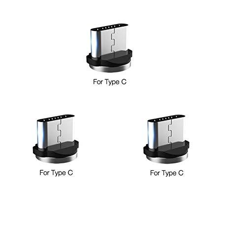 Ruibo Sike 3er-Pack Typ C USB Adapter magnetischer Ladestecker
