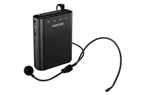 Altavoz Amplificador portátil (Alta Potencia 30W MAX) USB/MICROSD/MP3 ALTA-VOZ-30. Especialmente indicado para Profesores y Grupos pequeños