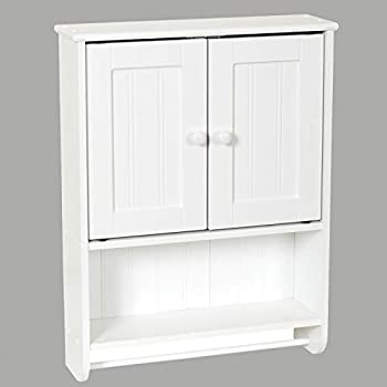 Zenna Home Cottage Wall Cabinet (White)
