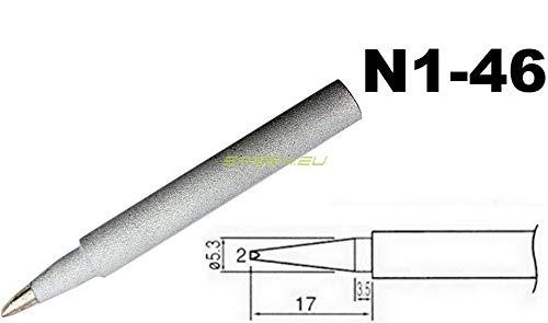 Punta N1-46 Punta di ricambio da 2,0 mm per stazione saldante SDD-9