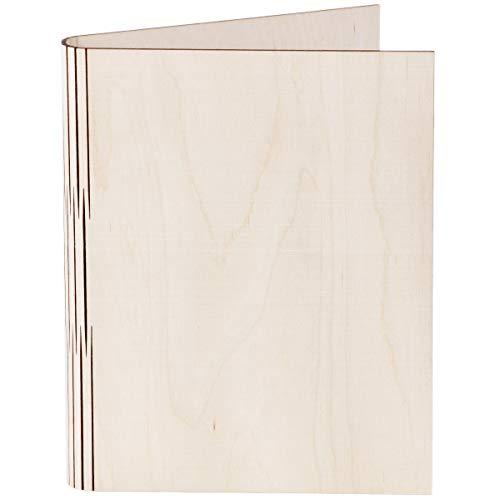 Cartellina portadocumenti in legno, formato DIN A5, 1 pezzo