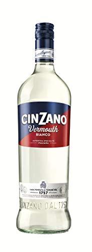 Cinzano Vermouth Blanco - 6 botellas x 1000 ml - Total: 6000 ml