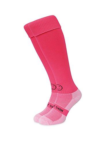 WackySox Flo rosa Sport-Socken Adult Shoe Size 11-14