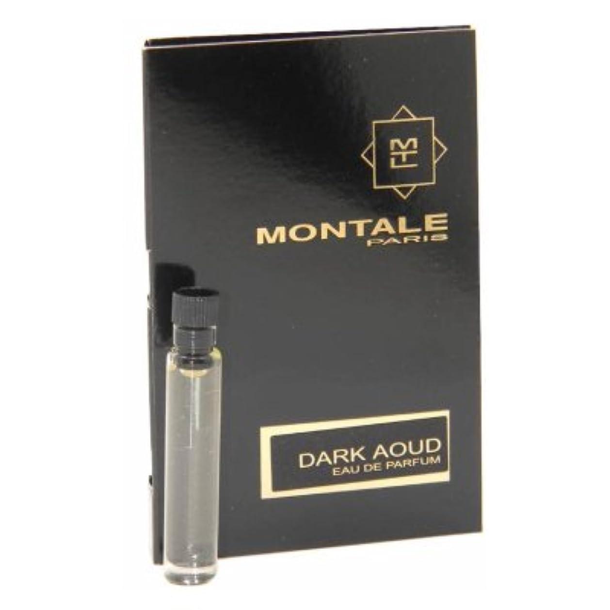 ピジンはちみつ極端なMontale Dark Aoud EDP Vial Sample 2ml(モンタル ダーク ウード オードパルファン 2ml)[海外直送品] [並行輸入品]