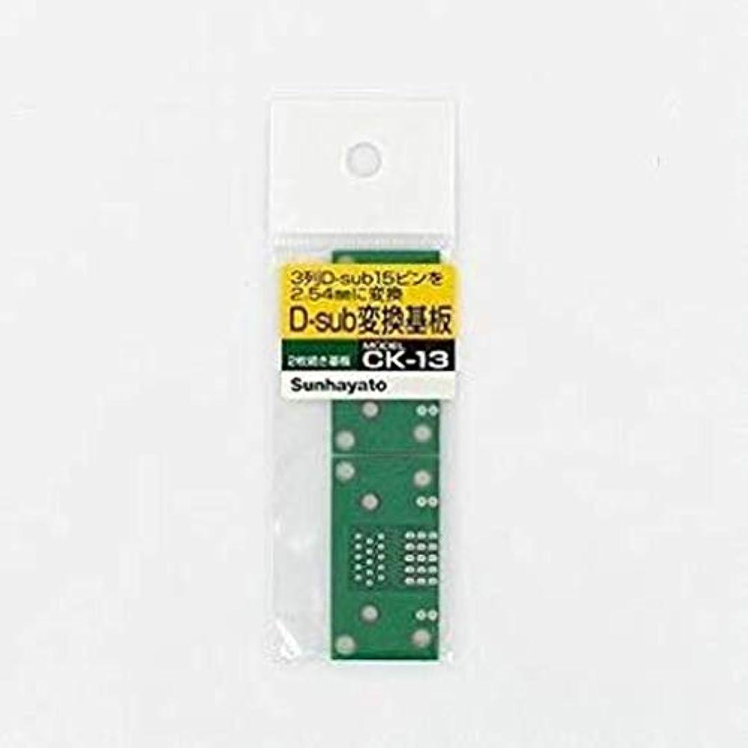課税してはいけない形状サンハヤト D-subコネクタ変換用基板 CK-13