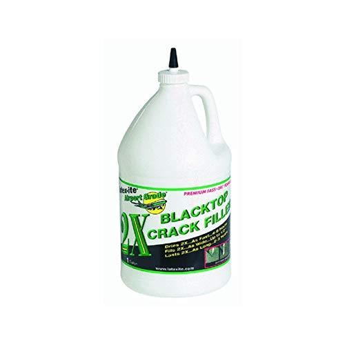 DALTON ENTERPRISES 31263 Airport Grade 2X Blacktop Crack Filler, 1 Gallon