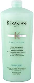 Makeup/Skin Product By Kerastase Specifique Bain Divalent Balancing Shampoo (For Oily Roots - Sensitised Lengths) 1000ml/34oz