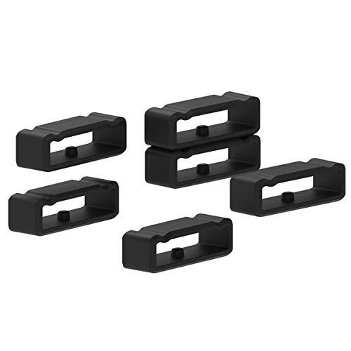 Chofit para Suunto Spartan Sport Muñequera HR Baro silicona Keeper Locking cierres compatible para...
