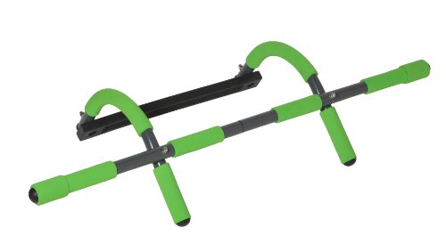 Schildkröt Fitness Türreck Multifunktionales 4 In 1, Limegreen-anthrazit, 960041
