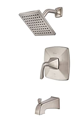 Pfister LG89-8BSK Bronson 1-Handle Tub & Shower Trim in Brushed Nickel
