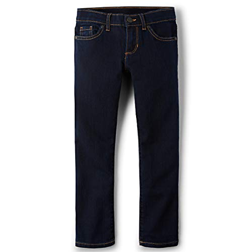 The Children's Place Big Girls' Skinny Jeans, BLUBERYWSH 4141, 14