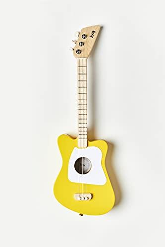 Loog Guitarra Acústica 3 Cuerdas, Verde, para Niños y Principiantes (LGMIG)