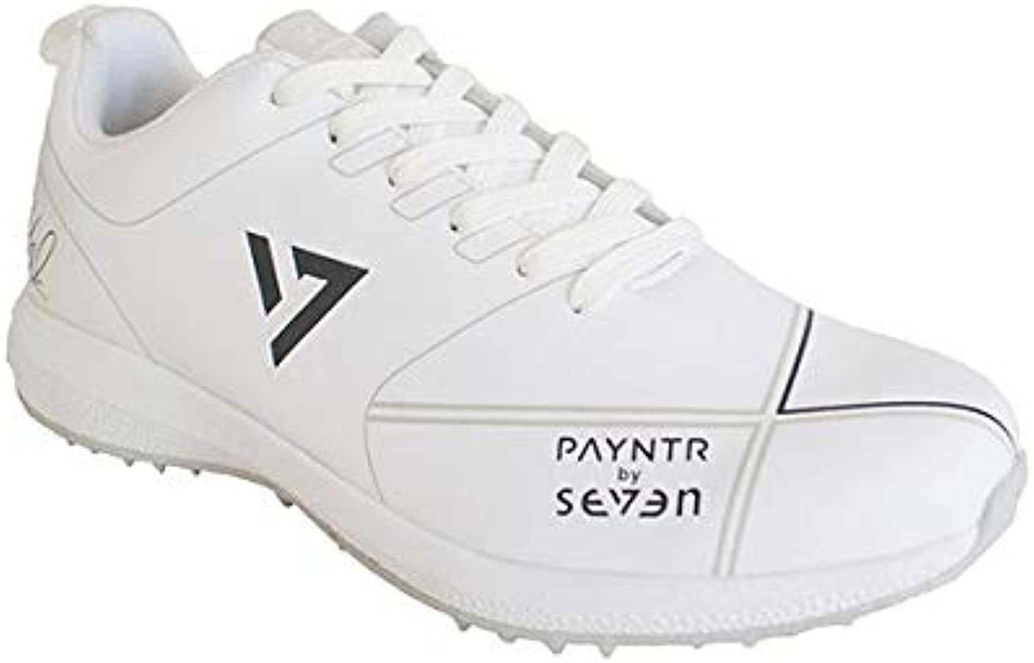 Payntr Rubber Cricket shoes by Seven White