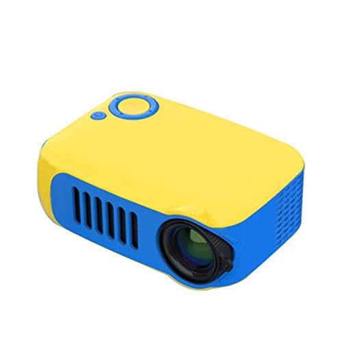 Draagbare mini-projector, 800 lumens 1080p LCD-scherm, 50.000 uur levensduur van de lamp voor home video beschermer-met statief,2
