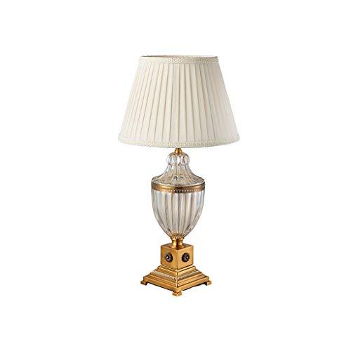 Tischlampe TMS European Style Wohnzimmer-Sofa Kaffee Exklusive Villa Ecktisch amerikanische Schlafzimmer Nachttischlampe Freizeit