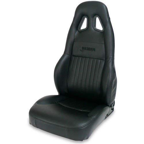 ProCar by Scat 80-1614-51R Black Vinyl Racing GT Recliner Right Seat