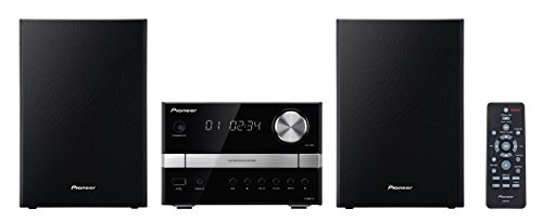 Pioneer X-EM12 Micro HiFi-System (2X 15 Watt, Front-USB, CD) schwarz