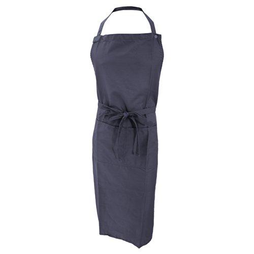 Jassz Bistro Unisex Arbeitsschürze/Schürze mit Brustlatz und Tasche (Einheitsgröße) (Marineblau)
