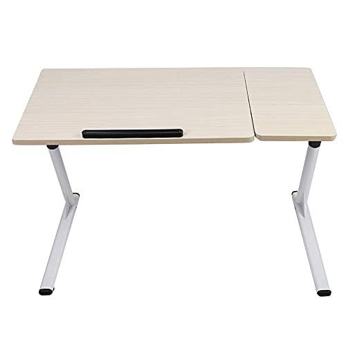 Z-Special escritorios de Regazo, Escritorio para computadora portátil, Mesa para computadora portátil en Forma de Z, Escritorio con Soporte para computadora, Ajustable para Cama, sofá, sofá, Oficina