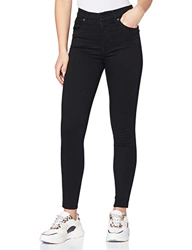 Levi's Mile High Super Skinny Jeans, Black Galaxy, 27W/28L Donna